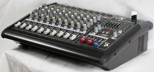 MB-9600 Professional 10 Channel  Powered Mixer Amplifier