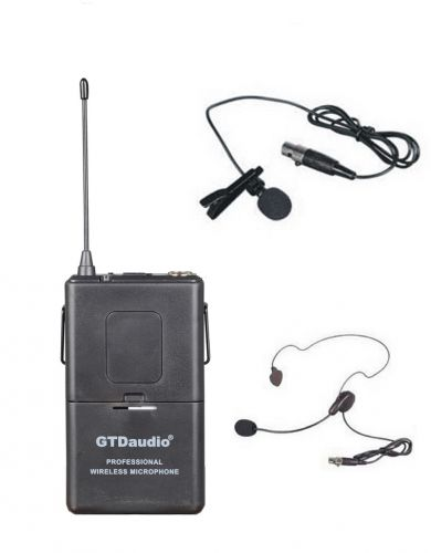 GTD Audio Wireless Body Pack Transmitter Fix Frequency