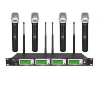 G-787H GTD Audio 4x800 Channel UHF Diversity Wireless Microphone