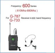 GTD Audio Body Pack Transmitter 600 Band (610Mhz-680Mhz) 788