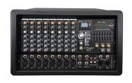 BM-55 Professional 4000 Watts 8 Channel Powered Mixer power mixing Amplifier