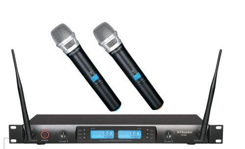 G-622H GTD Audio 2x100 Channel UHF Wireless Microphone