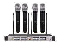 G-882 GTD Audio 4x100 Channel UHF Wireless Microphone New