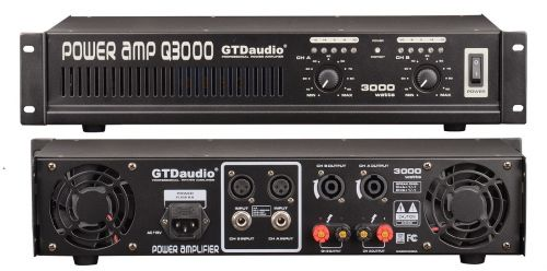 Gtd Audio 2x150 Watts Professional Stereo Power Amplifier