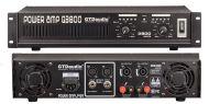 GTD Audio 2x250 Watts Professional stereo Power Amplifier Q-3800