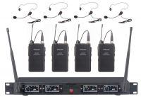 GTD Audio UHF Wireless Microphone System Lapel 504L