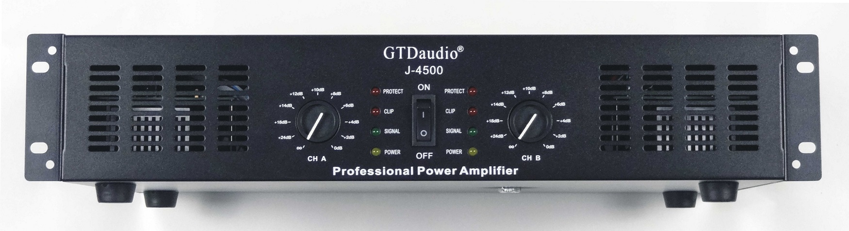 gtd audio 2x250 watts professional stereo power amplifier j  watts professional power amplifier amp